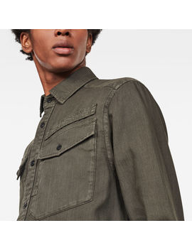 Army Straight Shirt by G Star