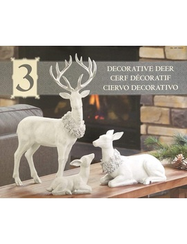 Table Top Decorative Deer Family Set Of 3 by Tc Brand