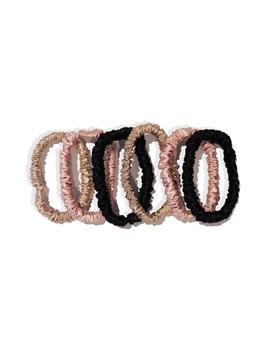 Slip™ For Beauty Sleep 6 Pack Slipsilk™ Skinny Hair Ties by Slip For Beauty Sleep