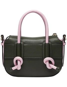Leather Equator Crossbody Hip Bag by Mimco