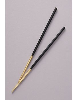 Colour Dipped Chopsticks by Anthropologie
