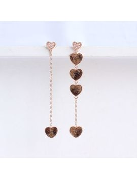 Joodii   Asymmetric Heart Earring by Joodii
