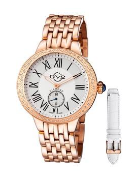 Women's Astor Diamond Quartz Watch, 40mm   0.24 Ctw by Gevril