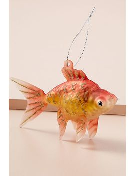 Glass Goldfish Decoration by Anthropologie