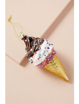 Ice Cream Cone Decoration by Anthropologie