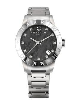 Women's Quartz Diamond Bracelet Watch, 33mm   0.04 Ctw by Charriol