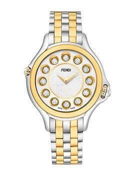 Women's Crazy Carats Quartz Bracelet Watch, 38mm by Fendi