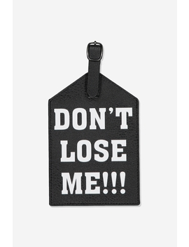 Jumbo Luggage Tag by Cotton On