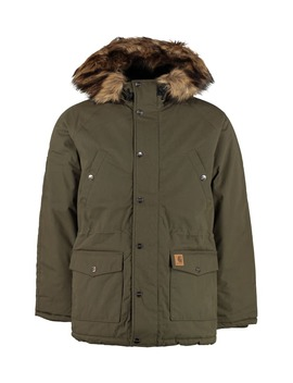 Carhartt Trapper Padded Parka With Faux Fur Hood by Carhartt