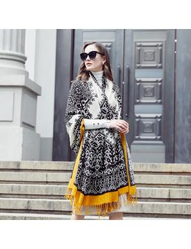 Wool Women Scarves Stoles Elegant Carf Warm Shawl Bandana Scarf Luxury Brand Muslim Hijab Beach Blanket Face Shield Foulard by Ali Express.Com