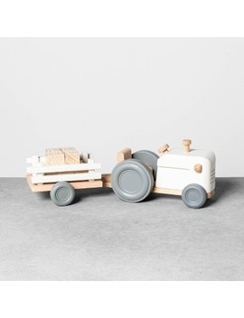 Wooden Tractor Set   Hearth & Hand™ With Magnolia by Shop Collections
