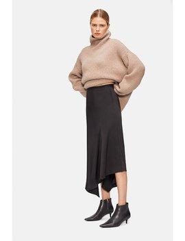 Bailey Silk Skirt   Black by Anine Bing