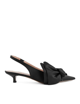 Slingback Kitten Heel Pumps by Arket