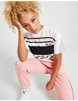 Ellesse Stripe Boyfriend T Shirt by Ellesse