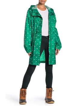 Go Lightly Waterproof Pack Away Hooded Jacket by Joules