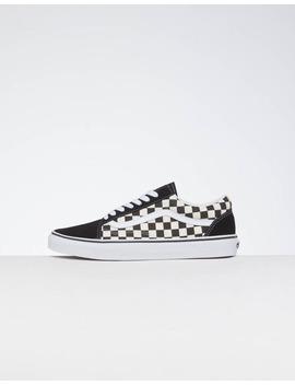 Vans Old Skool (Primary Check) Black/White by Vans