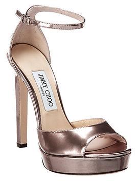 Jimmy Choo Pattie 130 Patent Sandal by Jimmy Choo