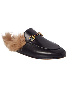 Gucci Princetown Leather Slipper  by Gucci