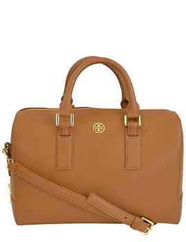 Tory Burch Robinson Leather Satchel by Tory Burch