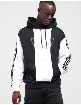Adidas Off Court Trefoil Hoodie Black/Black/White by Adidas