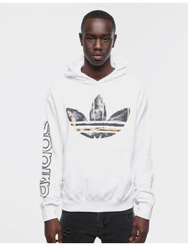 Adidas Watercolour Hoody White by Adidas