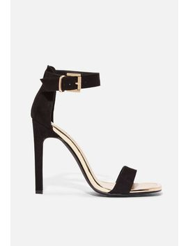Arie Square Toe Heeled Sandal by Justfab