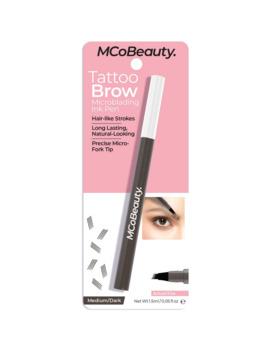 Mcobeauty Tattoo Eyebrow Microblading Ink Pen Medium/Dark 1.5ml by Mcobeauty