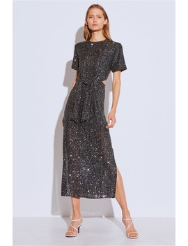 Lustre Midi Dress by Bnkr