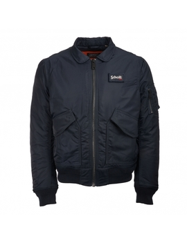 Cwu Bomber Jacket   Navy by Schott Nyc