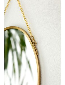 Petit Miroir Ovale by Urban Outfitters