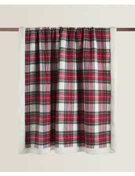 Check And Fleece Blanket  Bedroom   Christmas by Zara Home