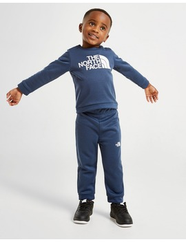 The North Face Surgent Logo Crew Tracksuit Infant by Jd Sports
