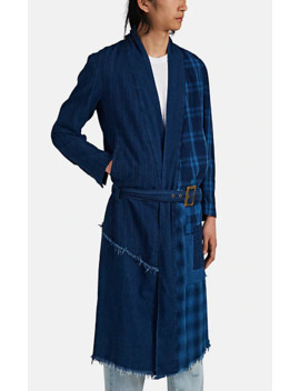 Split Kimono Robe by Greg Lauren