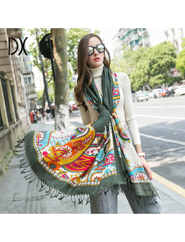 2010 New Fashion Winter Scarves Wool Ring Scarf Women Fashion Pure Warm Unisex Neck Woolen Winter Scarf Hijab Bandana Poncho by Ali Express.Com