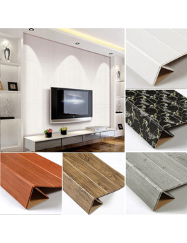 Modern Self Adhesive 3 D Foam Stripe Wood Wallpaper Sticker For Living Room Bedroom Waterproof Grey Wall Paper Home Decor by Ali Express.Com