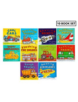 Amazing Machines Children's 10 Book Collection By Tony Mitton & Ant Parker by Amazing Machines