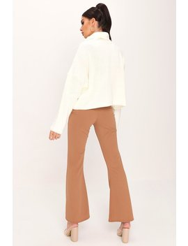 Cream Roll Neck Jumper by I Saw It First