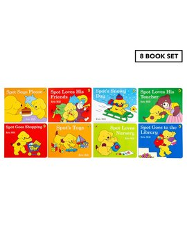 Spot 8 Story Book Collection By Eric Hill by Spot