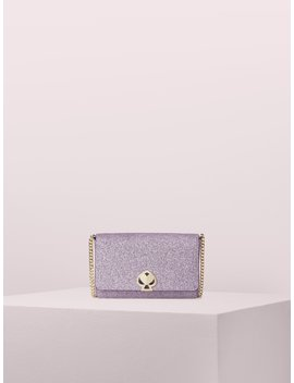 Nicola Shimmer Twistlock Chain Wallet by Kate Spade