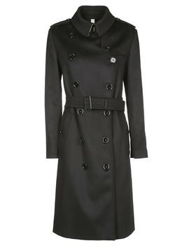 Burberry Kensington Belted Trench Coat by Burberry