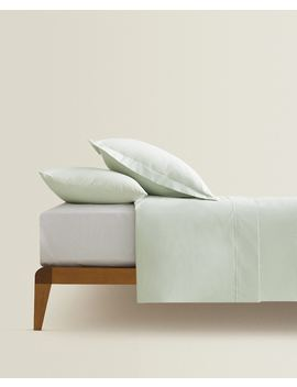Cotton Percale Duvet Cover  Duvet Covers   Bed Linen   Bedroom by Zara Home