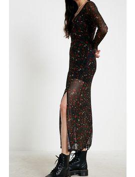 Uo   Robe Longue En Voile à Imprimé Floral Naomi by Urban Outfitters