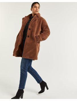 Loose Sherpa Coat by Reitmans
