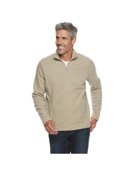 Men's Croft &Amp; Barrow® Arctic Fleece Quarter Zip Sweater by Croft &Amp; Barrow