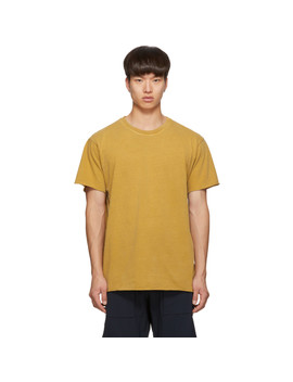 Yellow Anti Expo T Shirt by John Elliott