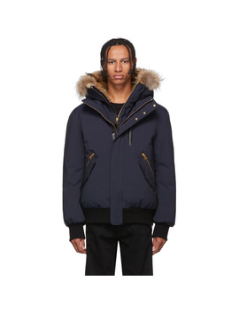 Navy Down Dixon Jacket by Mackage