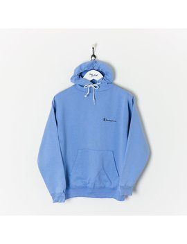 Champion Hoodie Blue Small by Champion