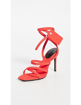 Satin Ziptie Sandals by Off White