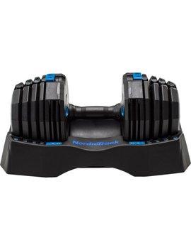50 Lb. Adjustable Dumbbell   Black by Nordic Track