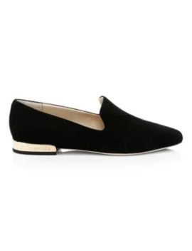 Jaida Suede Loafers by Jimmy Choo